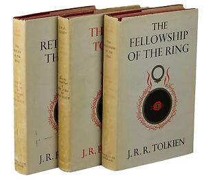 The-Lord-Of-The-Rings-Trilogy-JRR-TOLKIEN-First-Edition-Set-1961-1st-ALLEN