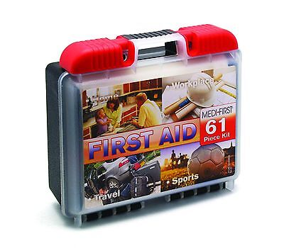 First Aid Emergency Kit Medical Survival Bag Trauma Car Travel Home Outdoor OSHA