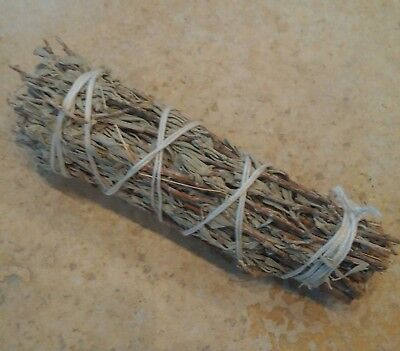 Salbei Zubehör (Blauer Salbei Smudge Stick Shasta Sage Räucherbündel)