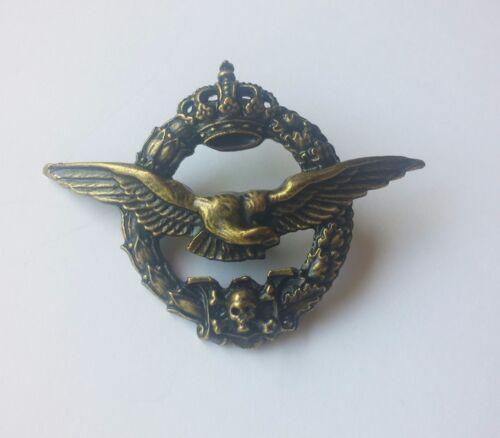 Royal Yugoslav pilot badge skull