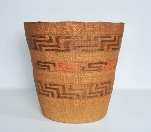 Fine Antique Northwest Coast Large Tlingit Basket - Published