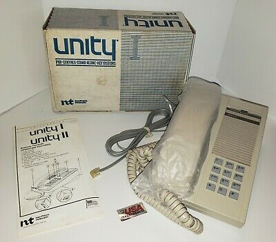 New In Box Vintage Northern Telecom Unity Phone Landline Business Home Office