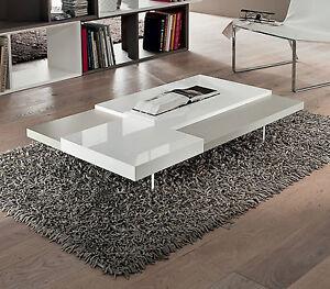 Tavolino salotto moderno basso pr erica 120x70 h20 cm for Soggiorno regalo
