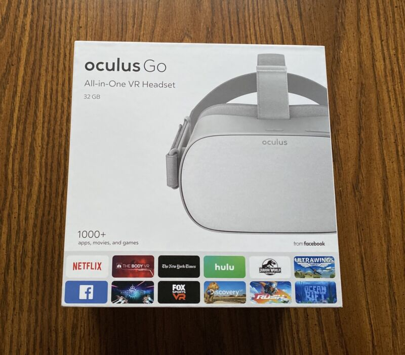 Oculus Go 32 GB Standalone VR Headset - EXCELLENT CONDITION!