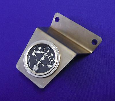 LINCOLN WELDER SA200 REDFACE BLACKFACE AMP GAUGE BRACKET & MURPHY AMMETER