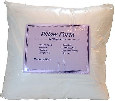 Pillowflex Indoor / Outdoor Non-woven Pillow Form Insert for Shams or Decorative