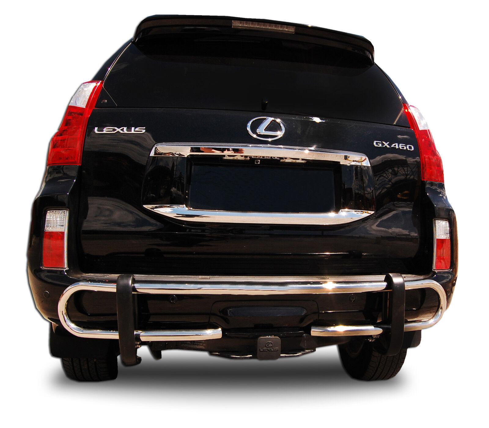 Wynntech S//S Rear Bumper Guard Double Pipe For 2010-2017 Toyota 4Runner