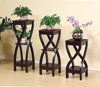 Smart Home Red Cocoa Garden Organizer Shelf Display Furniture Decor Plant -