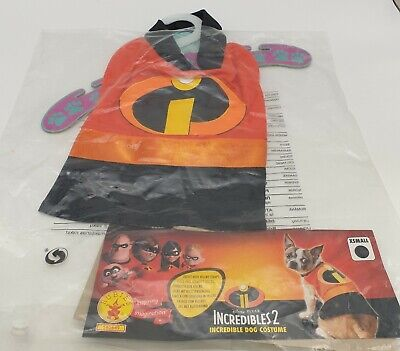 incredibles 2 dog costume,x small, chihuahua , toy breed ,new