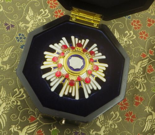 Japanese order of Sacred Treasure 2nd Class with box