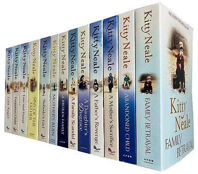 Kitty Neale Collection 13 Books Set A Broken Family, Abandoned Child,