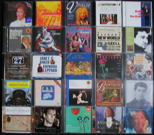 lot of 25 Classical Music CDs in very good condition FREE SHIPPING