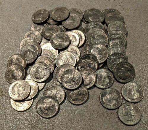 1979 S Susan B. Anthony * SBA * $25 Roll Nice Total of 25 Nice Coins