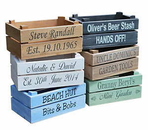 Personalised-Vintage-Style-Apple-Crate-Planter-Wedding-Rustic-Bushel-Box