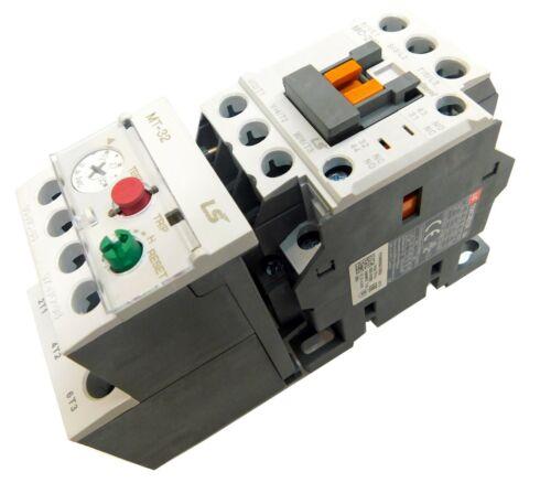 Motor Starter 15HP @ 460-480V 18-25 Amp Overload 120 Volt Coil Nema Rated LSis