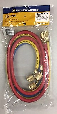 Yellow Jacket 48 Plus Ii 14 Ryb 3pk Hoses Wsealright Fitting 22984