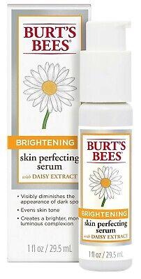 Burt's Bees Brightening Skin Perfecting Serum, with Daisy Extract - 1oz NIB!