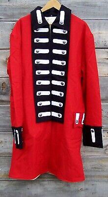 Revolutionary War British Army Regimental Red Frock Coat 48  01
