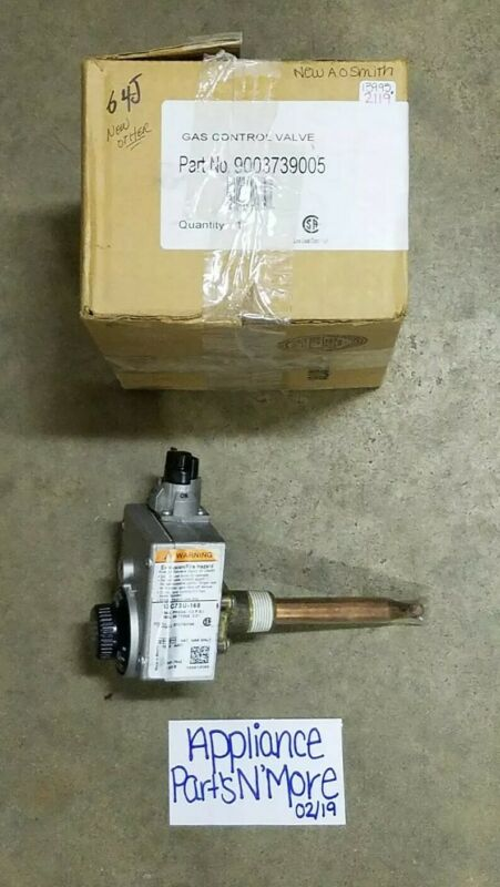 A.O.SMITH HOT WATER HEATER NATURAL GAS VALVE PART: 9003739005  FREE SHIPPING NEW