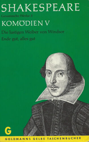 William Shakespeare: Komödien V **TOP**