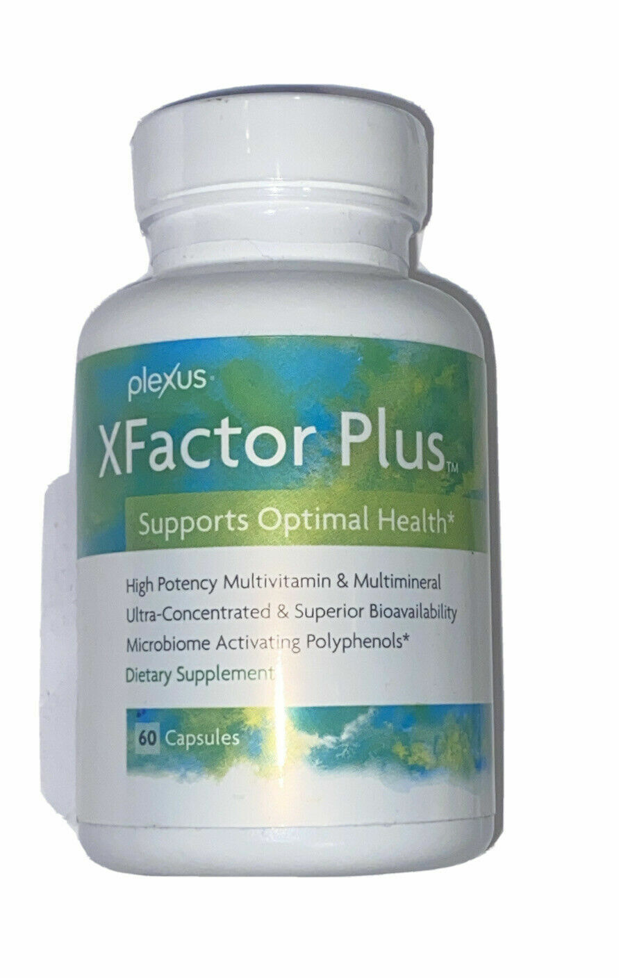 Plexus Slim XFactor Plus Multivitamin SEALED NEW  60 capsules - FREE SHIPPING