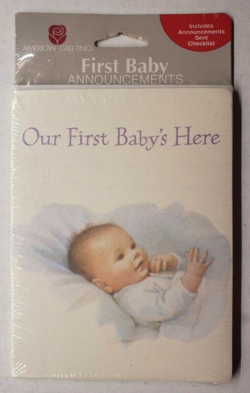 American Greetings First Baby Announcements Baby