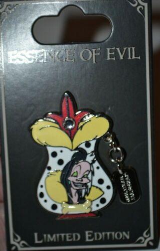 Disney Cruella De Vil Perfectly Wretched Essence Of Evil Pin 125473 Limited 3000