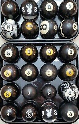 #8 Ball Pool Ball, 1500 VINTAGE & ANTIQUE BILLIARD BALLS IN STOCK Clay & Aramith