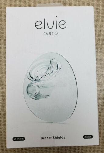 Elvie Pump Breast Shield - 24mm | 2 Pack Nipple Shield Flange for Pumping Breast
