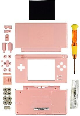 Nintendo DS Lite Replacement Case/Shell/Housing [Pink] Nds Lite Replacement Shell