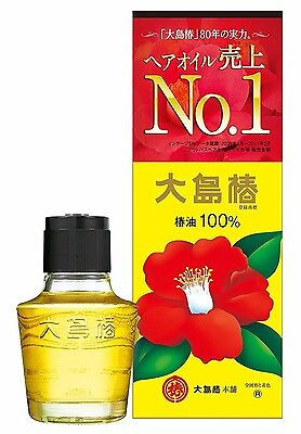 Oshima Tsubaki Hair Oil 40ml(1.35oz) Natural camellia oil 100% MADE IN JAPAN F/S