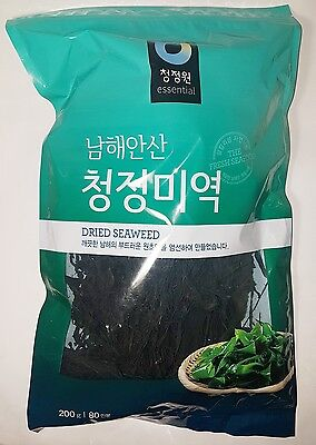 Chungjungwon Seaweed Sea Mustard Miyeok Wakame 200g(7.05oz) for 80 persons