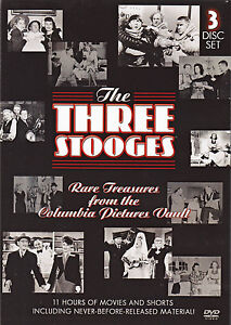 The Three Stooges - Rare Treasures from the Columbia Vault (1938) DVD New!