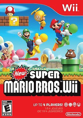 New Super Mario Bros. Wii (Nintendo Wii) New