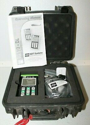 Nova Eclipse Tg110dl Ultrasonic Thickness Gauge Ndt Metal Thickness Tester 2