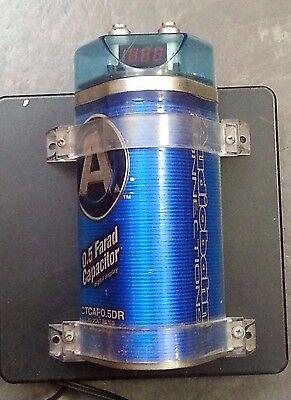 Audiobahn Connections 0.5 FARAD CAPACITOR 20 VOLT ()