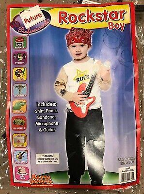 Boys HALLOWEEN costume ROCKSTAR size 3-4T](Rockstar Costumes For Boys)