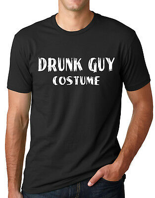 Funny Halloween Drinks (Drunk Guy Costume Funny Halloween Shirt Drinking Humor)