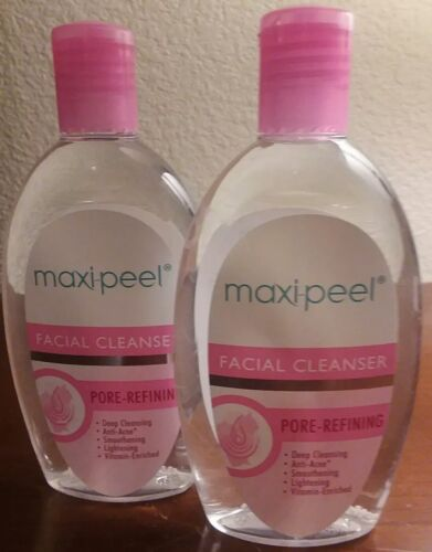 2x Maxi peel Facial Cleanser Pore Refining Beads 135ml