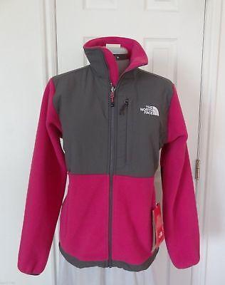 New Womens North Face Denali Fleece Jacket XS Fusion Pink Graphite Grey NWT - Graphite Denali Fleece