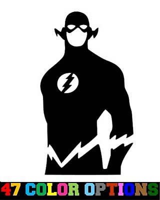 Vinyl Decal Truck Car Sticker Laptop - DC Comics Justice League The Flash - Cheap Stickers