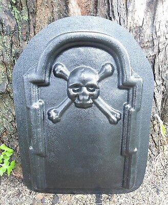 Cross bone Tombstone mold concrete casting Halloween mould