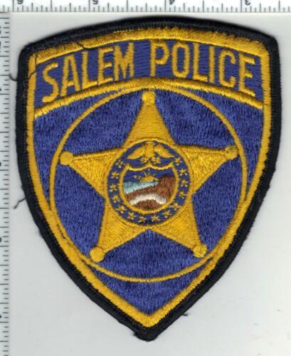 Salem Police (Oregon) 2nd Issue Uniform Take Off Shoulder Patch