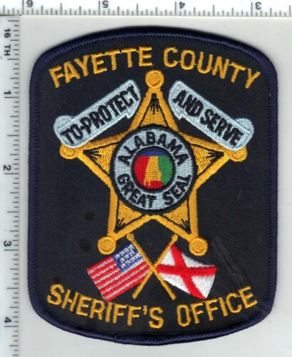 Fayette County Sheriff (Alabama) 2nd Issue Shoulder Patch