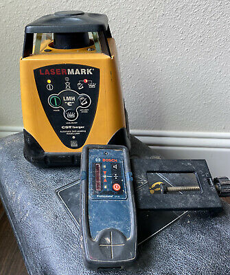 Cstberger Lasermark Lmh-c Self-leveling Rotary Laser Level With Bosch Receiver