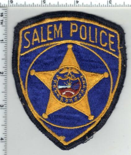 Salem Police (Oregon) 1st Issue Uniform Take Off Shoulder Patch