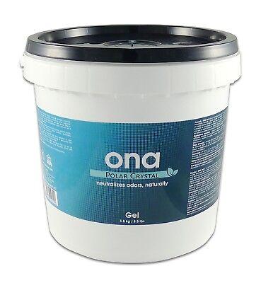 Ona Polar Crystal Gel 1 Gallon Pail 4L Eliminate Odor Control Neutralizing Clean Polar Crystal Gallon