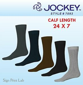 Jinete-24x7-Informal-Calcetines-7093-One-par-pantorrilla-Longitud-Algodon-5