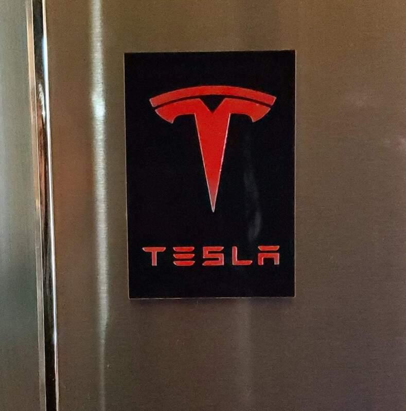 Tesla Logo Magnet