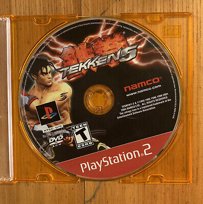 Tekken 5 (Sony PlayStation 2, 2005) PS2 Game Disc Only